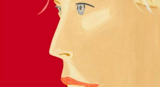 Alex Katz Cola Girl