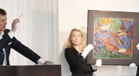 Der höchste Auktionszuschlag im Frühjahr 2013 für ein Gemälde in Deutschland fiel am 8. Juni