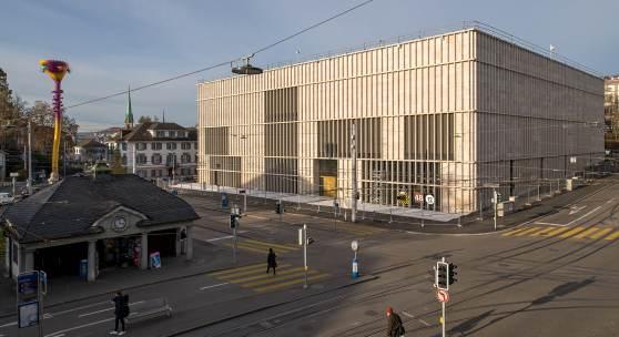 Kunsthaus Zürich, Erweiterungsbau von David Chipperfield Foto © Juliet Haller, Amt für Städtebau, Zürich