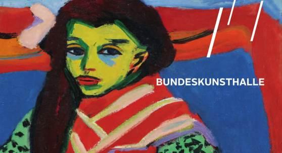 Plakat zur Ausstellung: Ernst Ludwig Kirchner - Erträumte Reisen