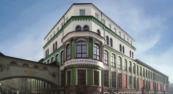 Kollmar&Jourdan-Gebäude – Domizil des Technischen Museums der Pforzheimer Schmuck- und Uhrenindustrie, © TMP, Foto Petra Jaschke