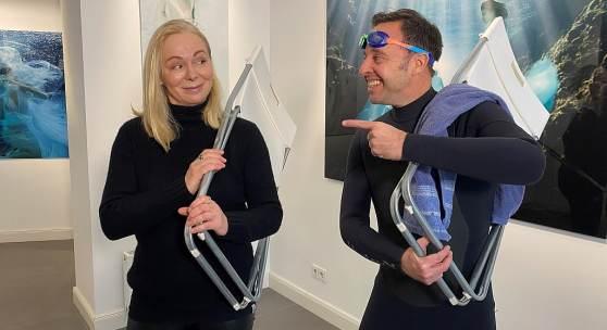 Foto: Gaby Fey und Till Quitmann: Rechte: RTL-WEST