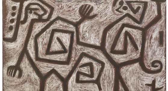 Paul Klee, Zank=Duett, 1938, Hilti Art Foundation
