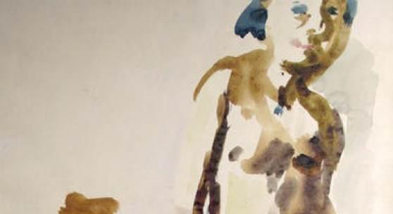 Oskar Kokoschka Stehendes Mädchen mit Krug, 1922 Galerie Ruberl