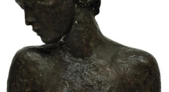 """Bronze Kolbe, Georg """"Kniende 1926"""", Schätzpreis EUR 25.000,-"""