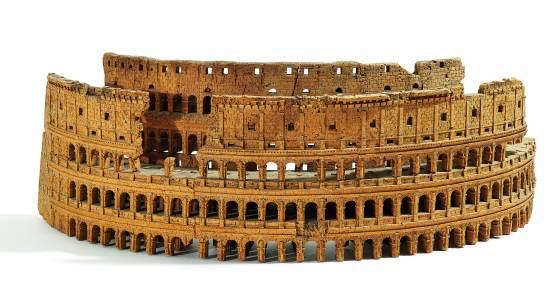 Korkmodell des Kolosseums Italien Luigi Carotti Schätzpreis: 3.000 – 4.000 Euro