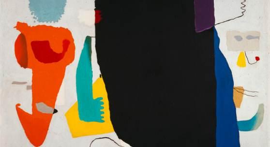 Willi Baumeister »Phantom mit roter Figur« (1953) Archiv Baumeister, © VG Bild-Kunst, Bonn 2016