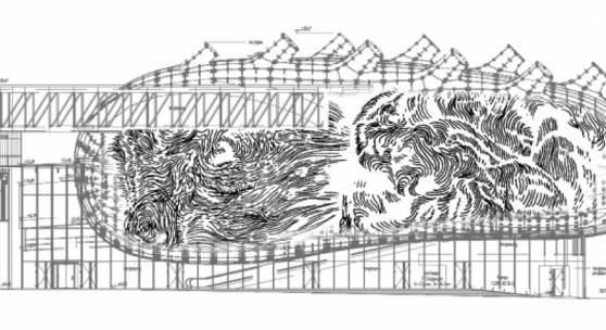 "Illustration ""Ghost"", Kunsthaus Graz, Courtesy & Copyright Tristan Schulze"