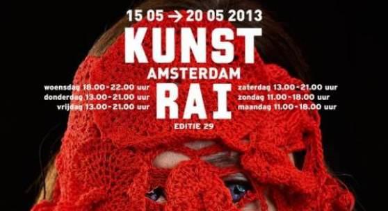 Plakat KUNSTRAI AMSTERDAM 2013 (c)  www.kunstrai.nl