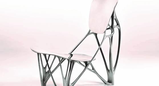 "Joris Laarman ""Bone"" Chair circa 2007 Estimate $500/700,000 Courtesy Sotheby's"