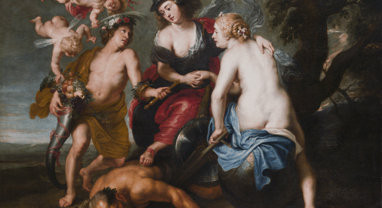 LAMPRONTI GALLERY Peter Paul Rubens and Studio The Triumph of Justice Oil on canvas 145 x 170 cm