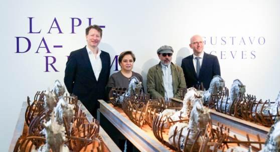 Kristian Jarmuschek, I.E. Patricia Espinosa Cantellano, Gustavo Aceves, Moritz van Dülmen © Jarmuschek+Partner