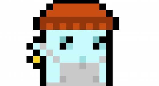 Larva Labs, CryptoPunk #7523