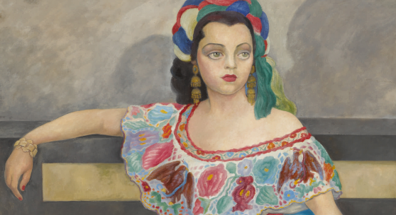 Lot 8 Property From The Collection of Mr. Jann Wenner Diego Rivera(1886-1957) Retrato De La Actriz Matilde Palou signed and dated 1951 upper left; also signed, titled, and dated on the reverse oil on canvas 80 1/2 by 48 1/4 in. 205 by 123 cm  Estimate $2/3 million