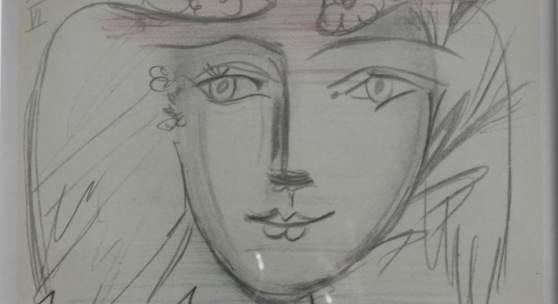 Bild 15: Pablo Picasso, le visage de la paix VI; Farblithografie erschienen bei Mourlot, 1950