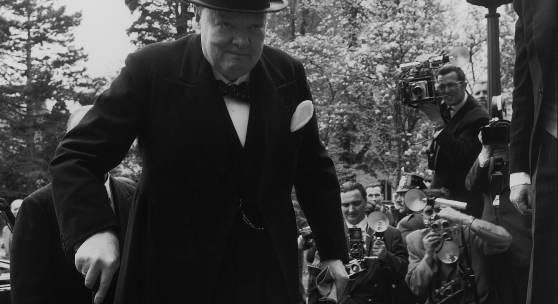 Fotografie von Winston Churchill © Robert Lebeck