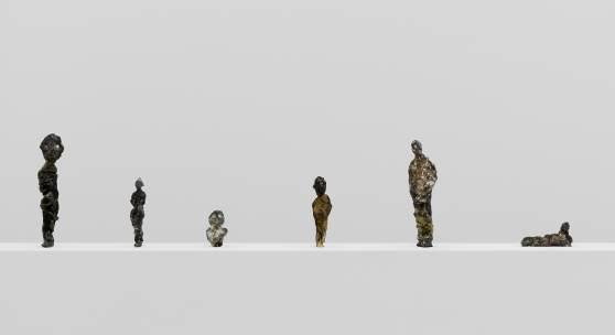 "Ausstellungsansicht ""Knockin' on Heaven's Door"", Kunstmuseum Liechtenstein, 2008, Foto: Stefan Altenburger Photography, Zürich © 2017, ProLitteris, Zürich/Kunstmuseum Liechtenstein (zur Ausstellung THOMAS LEHNERER)"
