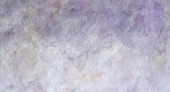 "Linda Berger | ""The Sun the Moon and the Stars are fast asleep"", Tusche auf Baumwollgewebe, 2021"