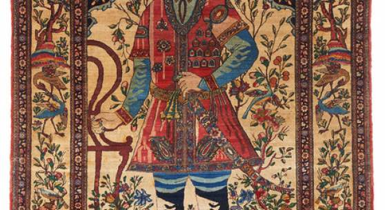 Kaschan, Atashoglu, Nadir Shah 1.Hälfte 20.Jh. 212 x 138cm Signiert Taxe: 3.000 Euro