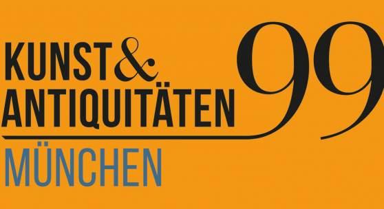 Logo 99. KUNST&ANTIQUITÄTEN MÜNCHEN