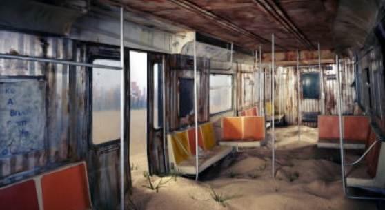 Lori Nix, Subway, 2012