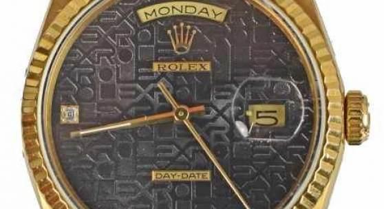 HERRENARMBANDUHR Rolex Day Date, Automatic, Chronometer, Gelbgoldgehäuse 18ct mit Rolexarmband, Gelbgold 18ct Mindestpreis:11.500 EUR