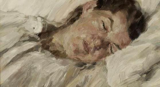 "Oskar Moll 1875 Brieg - 1947 Berlin - ""Schlafende Marg"" Aufrufpreis:12.000 EUR Schätzpreis:18.000 EUR"