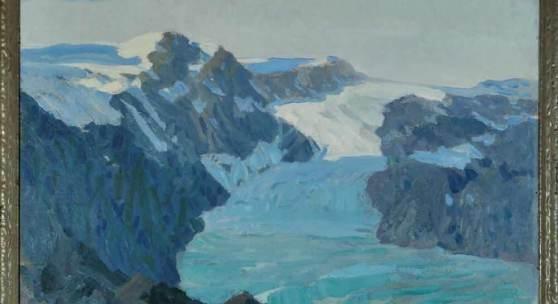 Weber-Tyrol, Hans Josef, 1874 Schwaz - 1957 Eppan (Südtirol) Öl/Lwd, doubl., 92 x 122 cm Mindestpreis:4.800 EUR
