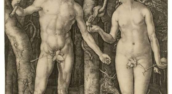 "Albrecht Dürer (1471 – Nürnberg – 1528) ""Adam und Eva"". 1504 Schätzpreis:80.000 - 120.000 EUR"