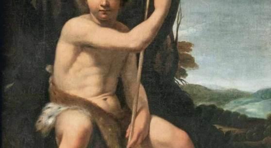Niccolò Renieri (Maubeuge 1590 - Venedig 1667), zugeschr. Johannes der Täufer Öl/Lw., 108,5 x 88,5 cm Mindestpreis:24.000 EUR