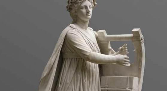 Antonio Frilli, lebensgroße Statue Apollo um 1900, aus weißem Carrara-Marmor gehauen. Aufrufpreis:50.000 EUR Schätzpreis:80.000 - 100.000 EUR