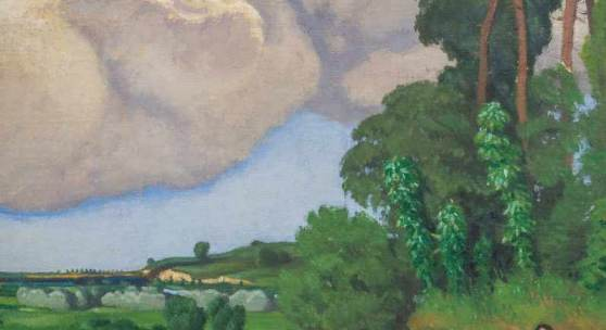 Félix Vallotton 1865–1925 Le grand nuage 1918, Schätzpreis: 250.000 - 350.000 CHF