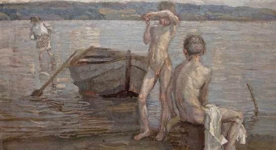 Christian Landenberger 1862 Ebingen - 1927 Stuttgart, Schätzpreis:10.000 - 12.000 EUR Zuschlagspreis:11.000 EUR