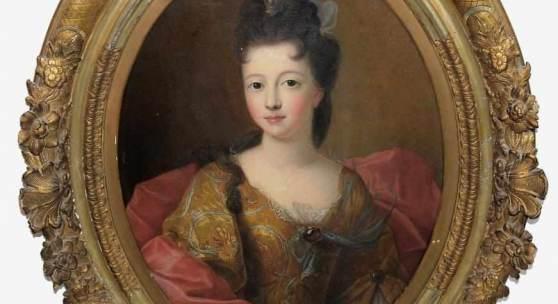 François de Troy, zugeschr., Halbporträt der Louise Françoise de Bourbon Schätzpreis:12.000 - 14.000 EUR
