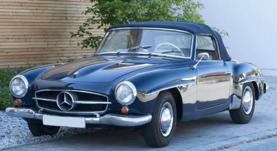 Mercedes-Benz 190 SL Cabrio Roadster, Oldtimer. Baujahr 1962. Aufrufpreis:80.000 EUR