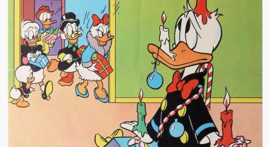 Sehr seltenes Reklameplakat zum Micky Maus Sonderheft 33, Ehapa, Lithographie 1955, gerahmt Schätzpreis:3.000 - 3.500 EUR