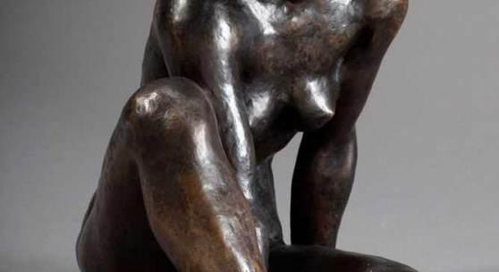 "Klimsch, Fritz (1870-1960) ""Beschaulichkeit"" 1924, Bronze, verso am Gesäß sign. ""F. Klimsch"", Gießerstempel: ""H.Noack/Berlin"", H. 32cm Aufrufpreis:9.000 EUR"