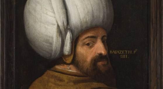 Veronese, Paolo, Nachfolger Porträt des Sultan Bajozeth I. Öl/Lw. 68,5 x 53 cm. Aufrufpreis:7.000 EUR