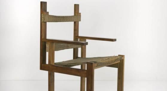 Marcel Breuer, 'Lattenstuhl ti 1a', 1924 'Lattenstuhl ti 1a', 1924 H. 95,2 x 56 x 57,7 cm; Lattenstärke: 2,5 x 6 cm. Bauhaus Weimar, 1924/25.