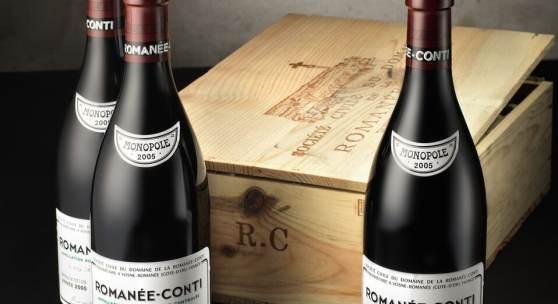 Lot 181 Romanee Conti 2005