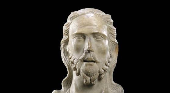 Lot 258: Tino di Camaino (attr.), Christusbüste, wohl um 1315, Kalkstein, H. 36 cm, Ergebnis: 175.000 €