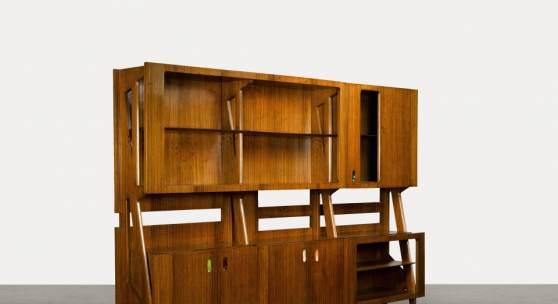 Lot 50, Ico Parisi, Monumental Bookcase