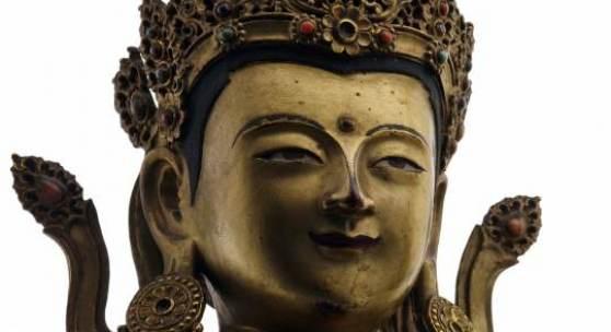 Lot 88 - Buddha Amitayus  (Detail)