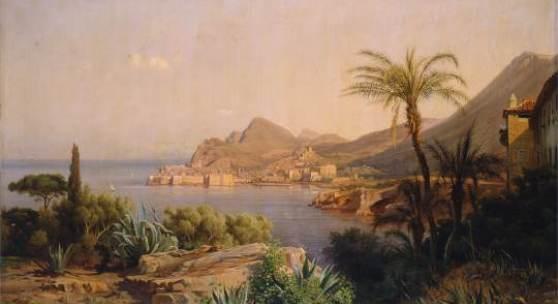 Louis Gurlitt, Küstenlandschaft, 1844, Foto Altonaer Museum
