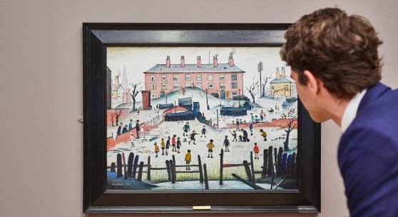 Lowry's Cricket Match sells for £1.2 million