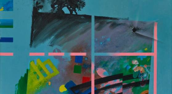 Hermann Bayer, Ohne Titel, 1982 Privatsammlung, Liechtenstein Acryl auf Leinwand 60 x 75 cm