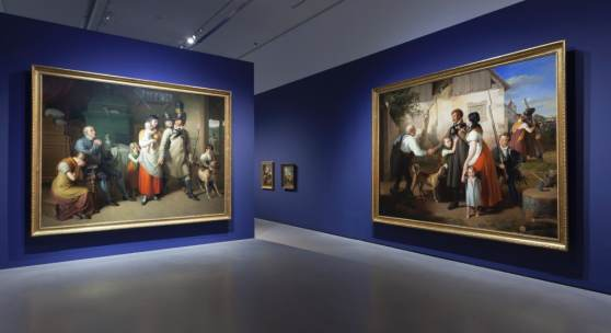 Ausstellungsansichten, Johann Peter Krafft - Maler eines neuen Österreich