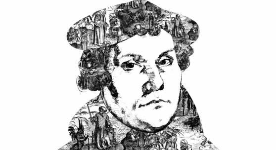 Plakat Luther und die Hexen