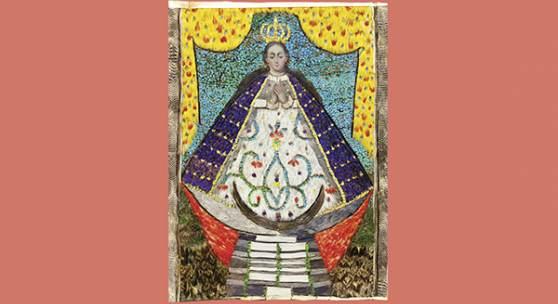 Bild: Madonna © Staatliche Museen zu Berlin, Ethnologisches Museum / Stiftung Humboldt Forum im Berliner Schloss, digitale Reproduktion: Jester Blank GbR