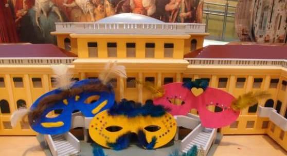 Masken basteln 2 (c) Schloß Schönbrunn Kultur- und Betriebsges.m.b.H